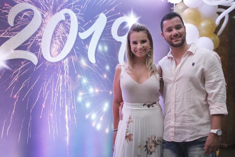 Larissa Royer e Felipe Barata