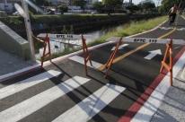 O que falta para concluir novo trecho de ciclovia em avenida de Porto Alegre