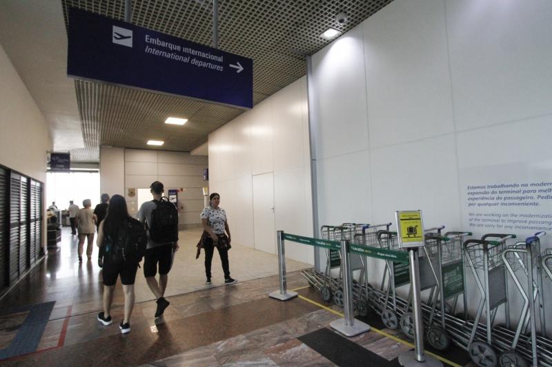Nova área de embarque internacional é uma das novidades do aeroporto em Porto Alegre