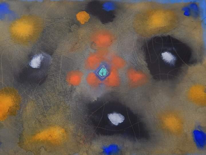 Aula de pintura com Carlos Wladimirsky é uma das atividades
