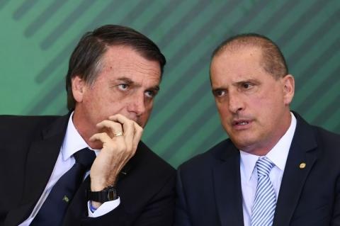 Onyx reúne-se com Bolsonaro e diz que governo está muito seguro com Previdência