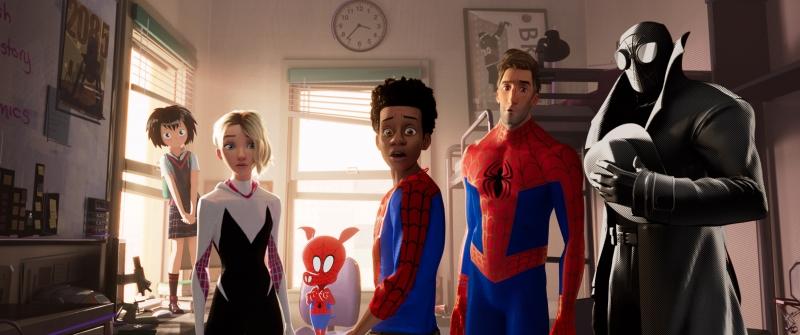 Diferentes versões do Homem-Aranha se encontram em filme