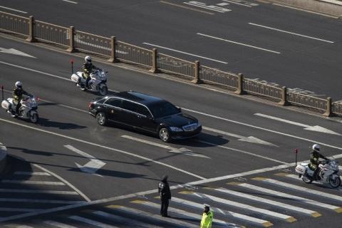 Kim Jong-un chega a Pequim para uma visita de quatro dias