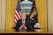 Em fala à nação, Trump reitera que manterá governo fechado até muro ser aprovado
