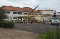 TAP M&E desmonta oficinas em Porto Alegre