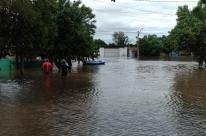 Número de atingidos pela chuva sobe para 4,3 mil em Alegrete