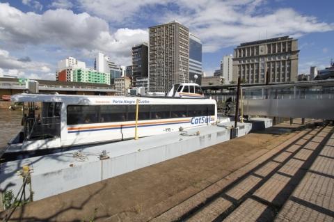Empresa descarta aumento de passagem do catamarã devido a menor fluxo na pandemia