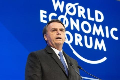 Fórum oficializa cancelamento de coletiva do Brasil com Bolsonaro em Davos