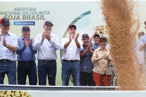 Colheita de soja começa em clima de incertezas