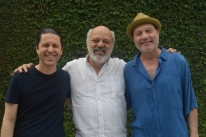 Daniel Sá, Pedrinho Figueiredo e Everson Vargas se apresentam no Cisne Branco