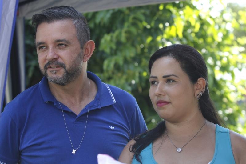 João Carlos Braz e Tamara Figueiredo vendem seus produtos em diversas feiras