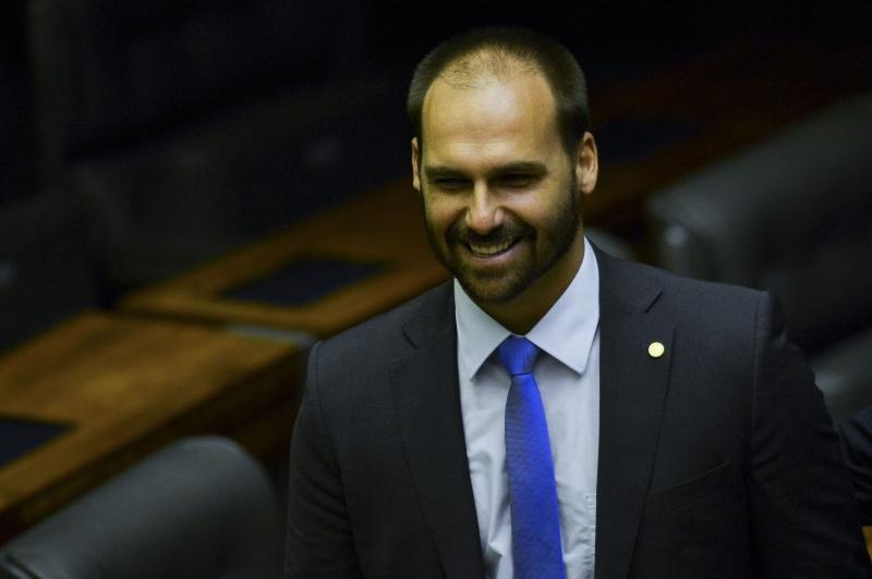 Eduardo afirmou que trabalhará para aproximar o Brasil de parceiros estratégicos