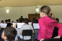 Grupo conheceu os bastidores do V Gramado in Concert