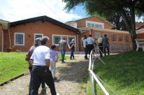 Grupo de aposentados conhece Casa de Acolhida Luiz Matias