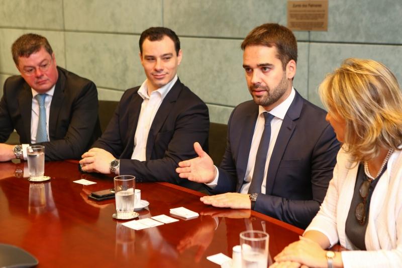 Eduardo Leite garantiu o apoio incondicional à reforma da Previdência