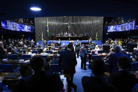 Senado pode votar nesta terça-feira proposta que substitui MP do Saneamento