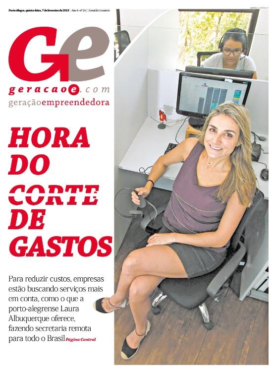 Capa GeraçãoE, 7 de fevereiro de 2019