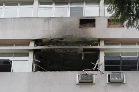 Plano contra incêndios do Fêmina está em andamento, diz GHC