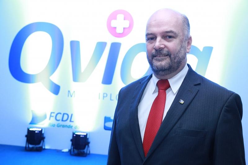 Vitor Augusto Koch, presidente da Federação das Câmaras de Dirigentes Lojistas do Rio Grande do Sul (FCDL-RS)