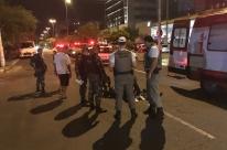 Perseguição policial agita noite em bairro central de Porto Alegre