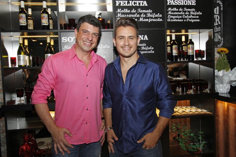 Pierre Pucci e Thiago Messias recepcionaram os convidados