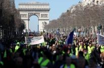 Na França, protestos de coletes amarelos voltam a ocorrer neste sábado