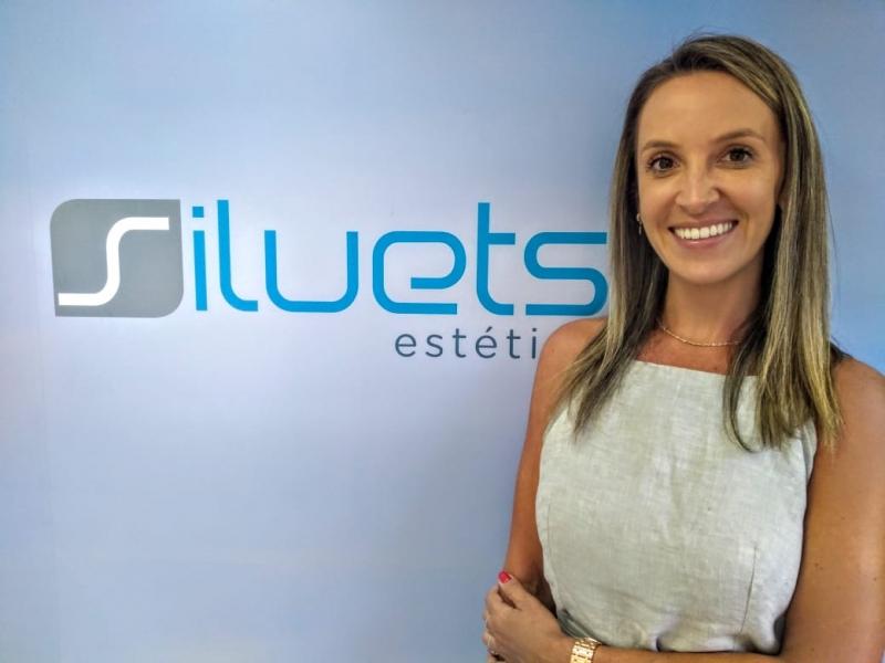 Camila Andres, proprietária da Siluets zona sul