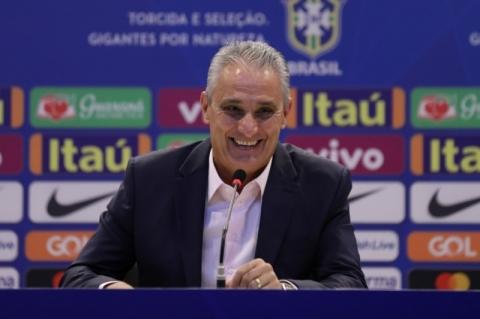 Tite convoca seleção brasileira para amistosos