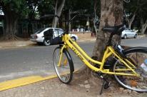 Yellow usa QR codes para alugar bicicletas com dinheiro