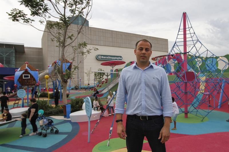 O Barracadabra fica no BarraShoppingSul, onde Eduardo atua como superintendente