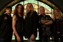 Saxon faz show em Porto Alegre nesta quarta-feira