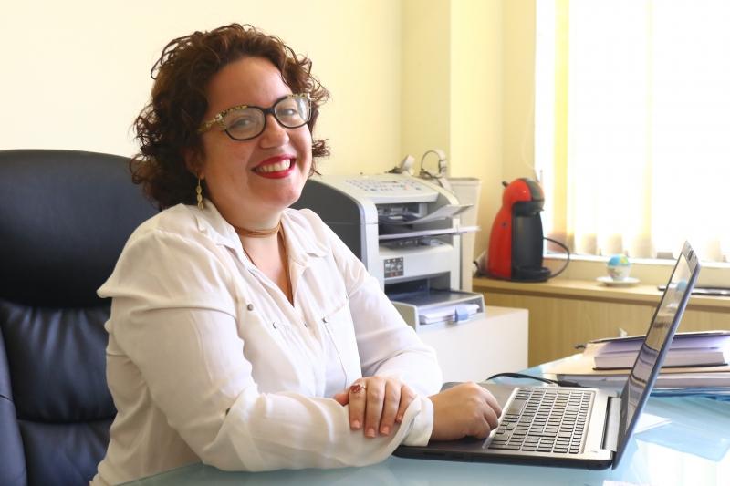 Gabriela Ribeiro de Souza, fundadora de um escritório de advocacia para mulheres.