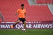 Dourado participa de treino e deve reforçar o Inter contra o Alianza Lima