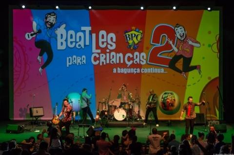 Banda Beatles para Crianças faz shows em Porto Alegre neste final de semana