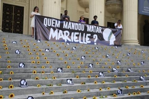 Atos marcam 1 ano da morte de Marielle e Anderson