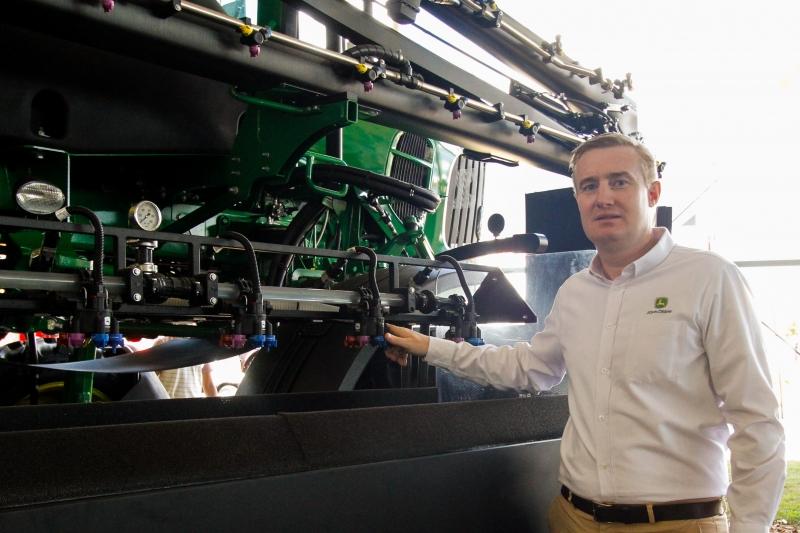 Martini diz que a tecnologia das máquinas é a grande aliada na conquista de eficiência no campo