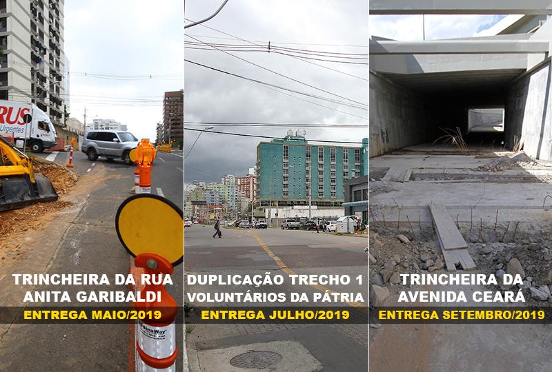 Três obras viárias estão sendo previstas para serem entregues este ano pela prefeitura de Porto Alegre