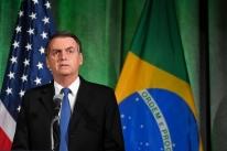 Nos EUA, Bolsonaro se compara a Trump e fala em resolver 'questão na Venezuela'