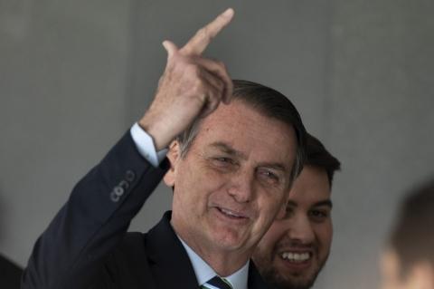 Em visita fora da agenda nos EUA, Bolsonaro vai à CIA