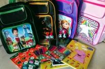 Iniciativa arrecada materiais escolares para crianças em situação de vulnerabilidade