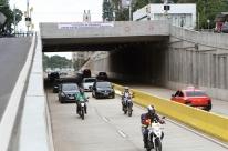 Trincheira da Cristóvão Colombo é aberta ao trânsito em Porto Alegre