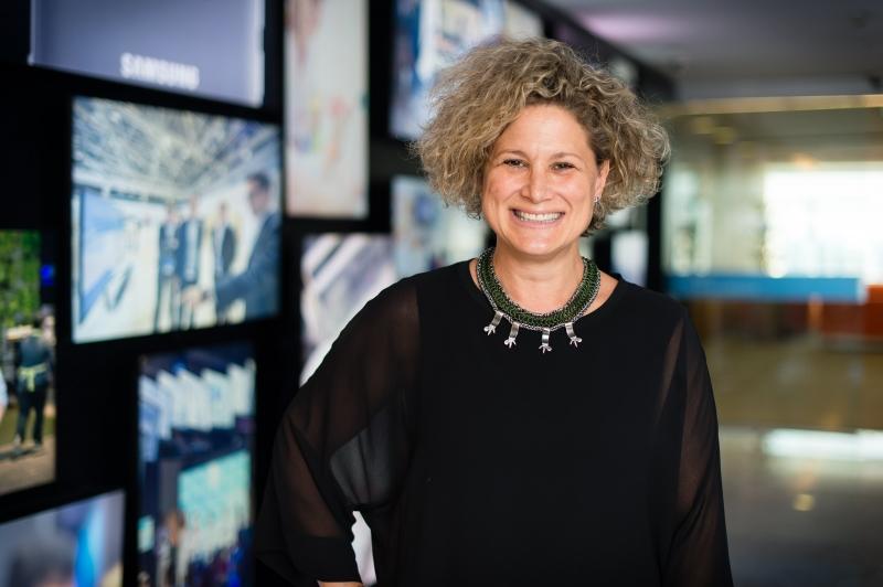 Loredana é diretora sênior de Marketing da Samsung