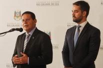 Mourão diz que é triste ter ex-presidente condenado e outro preso preventivamente