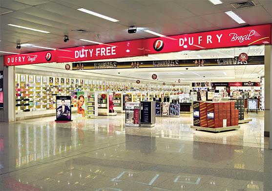 Receita estuda igualar regras de free shops terrestres com as das lojas francas em aeroportos