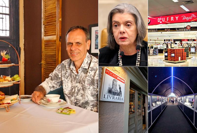 Semana teve inauguração de casa de chás, primeiro free shop do Estado e livraria de rua