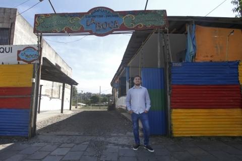 Espaço traz a atmosfera do bairro La Boca para Porto Alegre