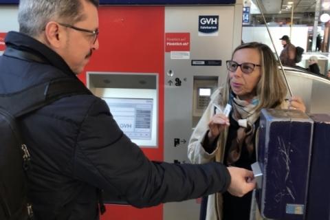 Tíquete de metrô vale por um dia em Hannover