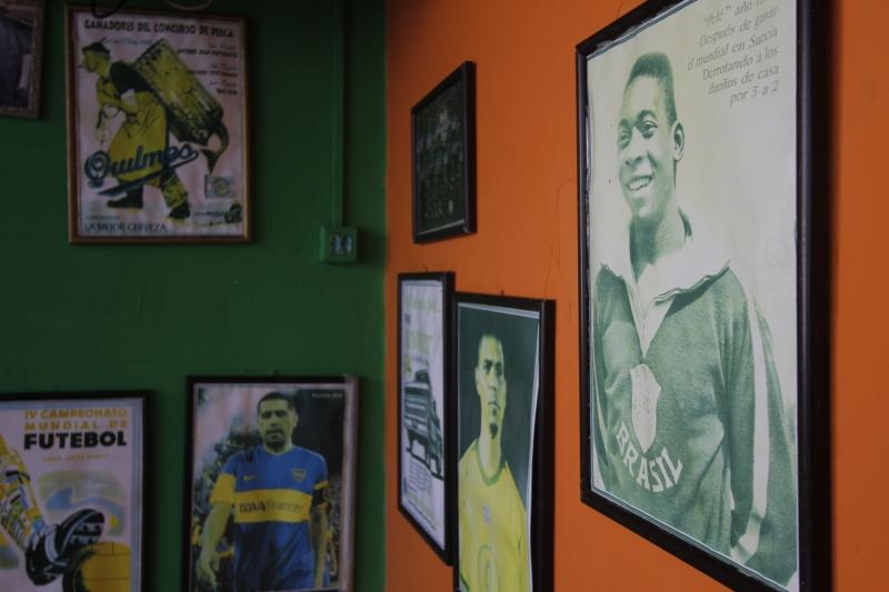 Espaço esportivo e cultural La Boca para matéria sobre locais temáticos de bairro.
