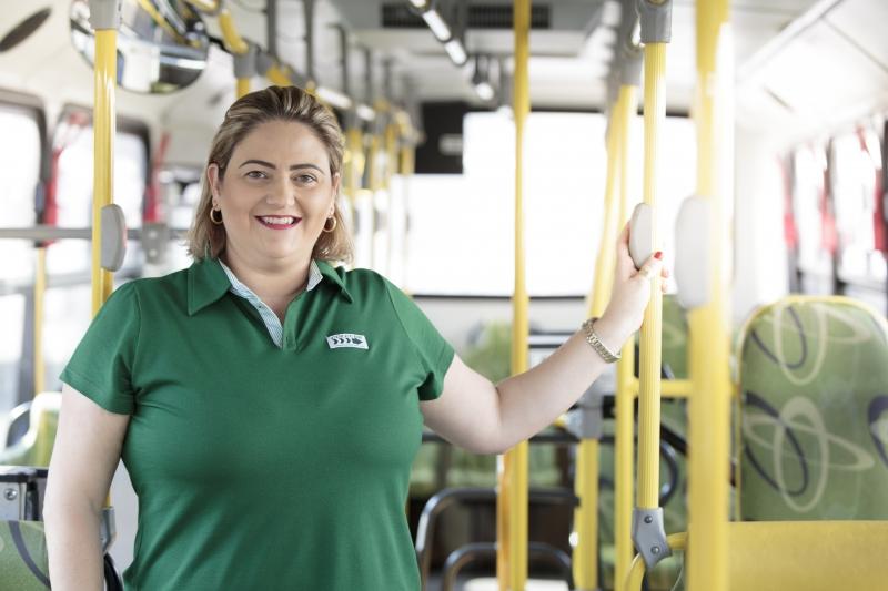 Paula Bulla é CEO da Coleurb , empresa de transporte público de Passo Fundo