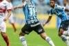 Grêmio bate São Luiz, ameniza pressão e confirma Grenal na final